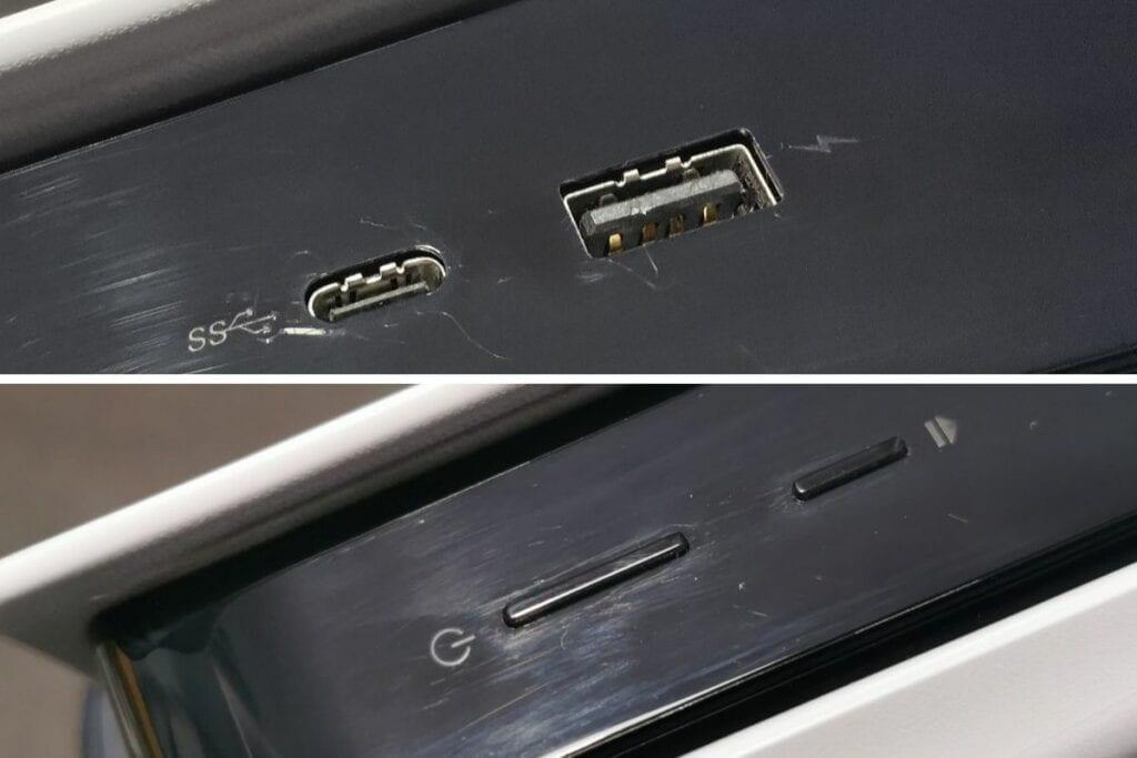 Recenzja PS5 - obudowa