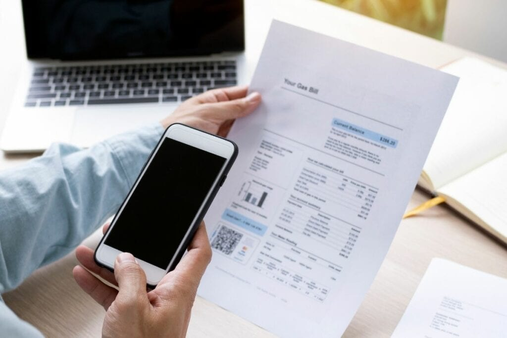 Skanowanie dokumentów telefonem lub skanerem - smartfon