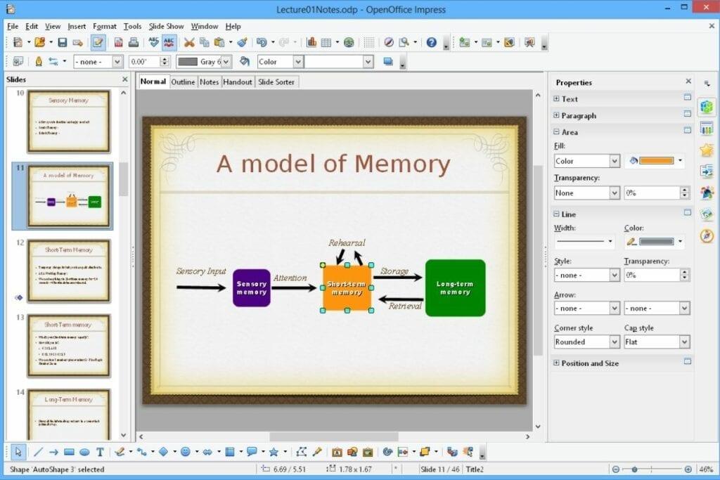 Apache Impress - program do prezentacji od twórców LibreOffice