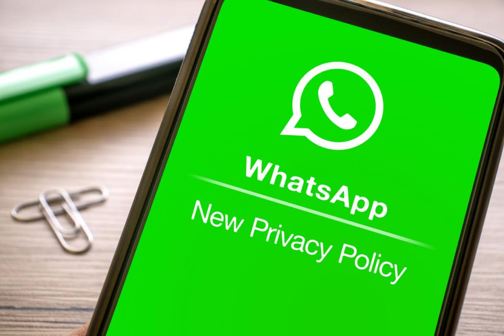Aplikacja whatsapp i nowa polityka prywatności