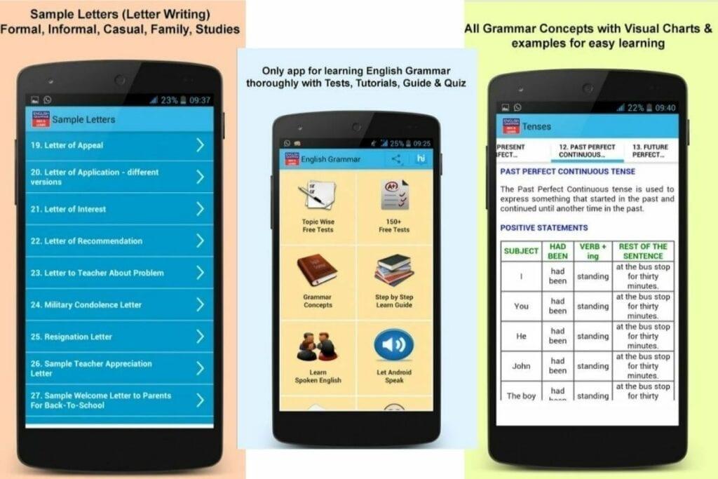 Aplikacja do nauki angielskiego dla zaawansowanych