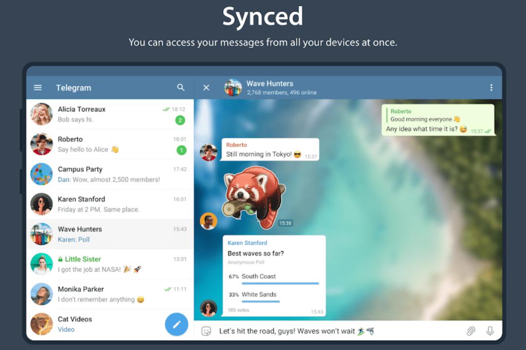 Aplikacja Telegram