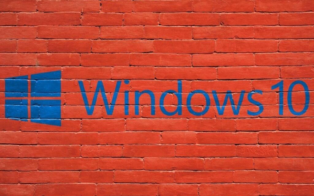 Funkcja Bitlocker - Windows 10, ściana, blokada dostępu