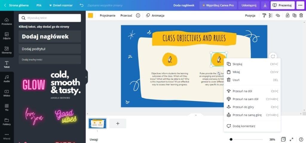 Canva.com - intuicyjne narzędzie do tworzenia prezentacji