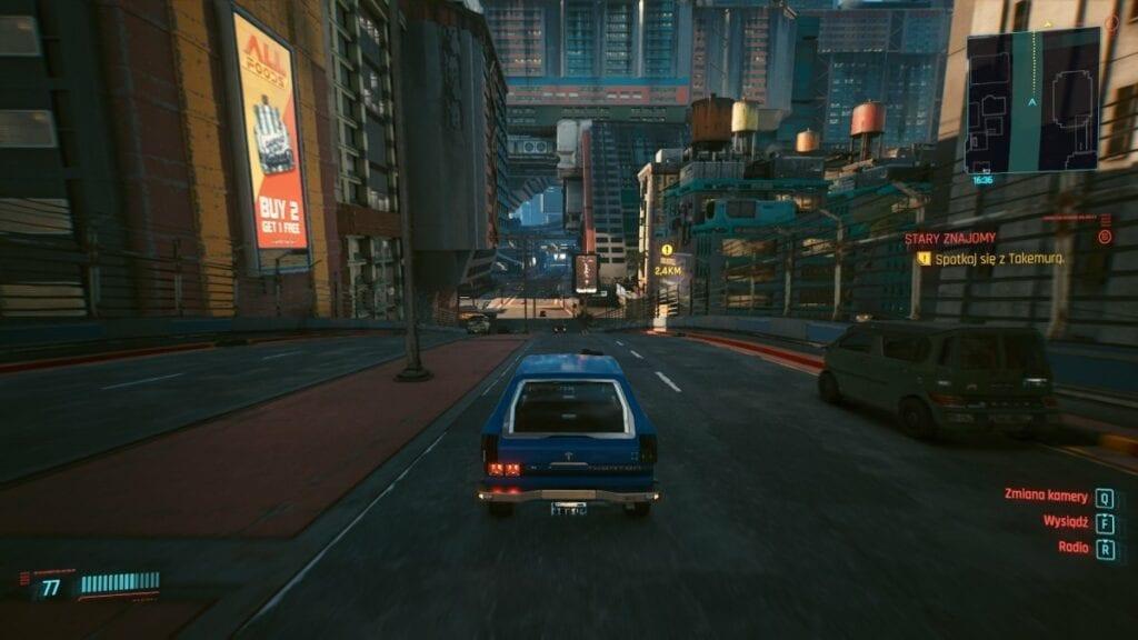 Cyberpunk 2077 - czy warto zagrać w nową grę od twórców Wiedźmina 3 - miasto i ulica