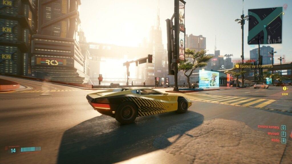 Cyberpunk 2077 - czy warto zagrać w nową grę od twórców Wiedźmina 3 - samochody