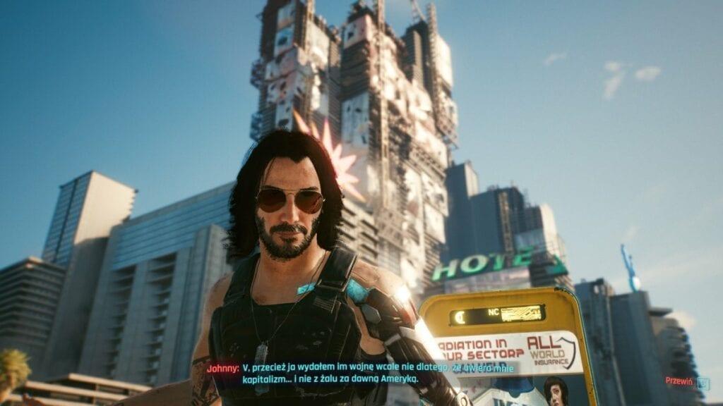 Cyberpunk 2077 - czy warto zagrać w nową grę od twórców Wiedźmina 3 - warto poznać Johnnyego