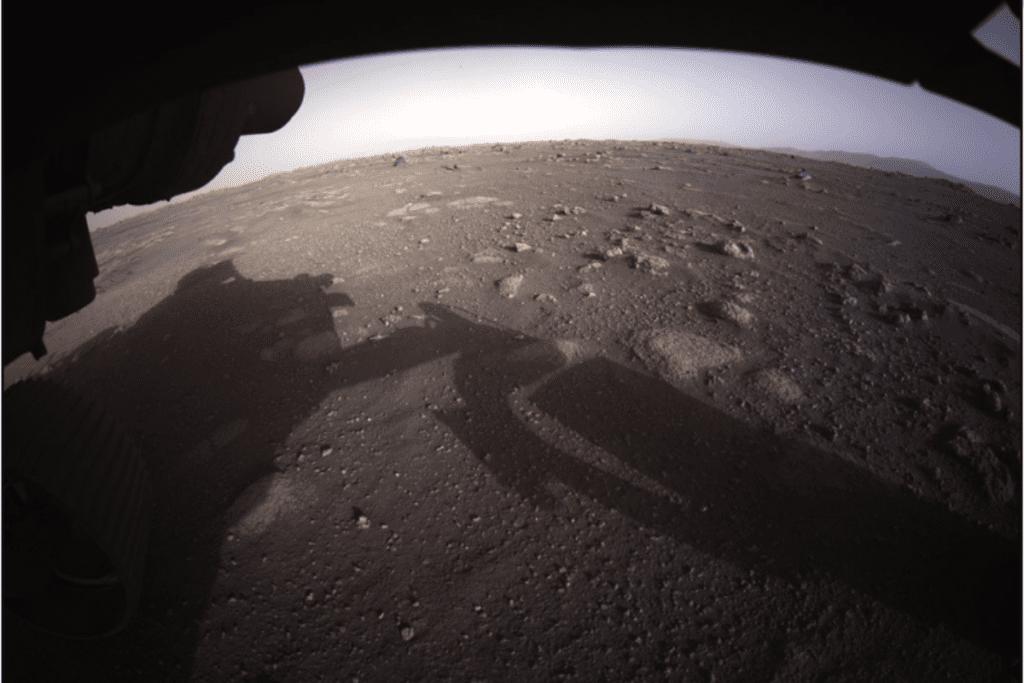 Perseverance pierwsze zdjęcie powierzchni Marsa