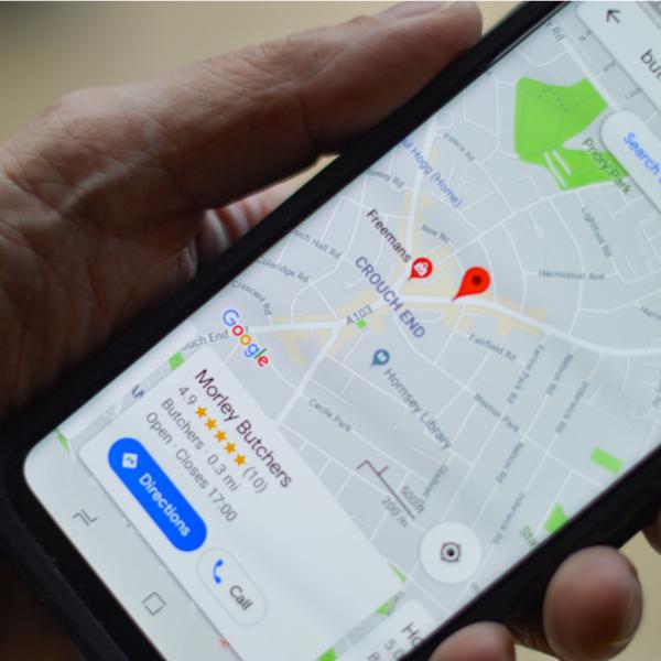 Mapy google offline tło