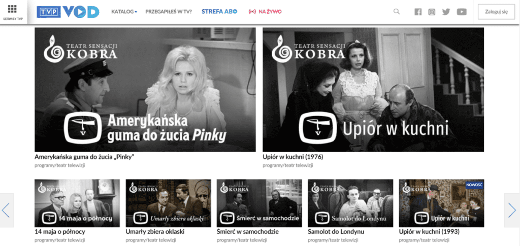 TVP VOD - polska telewizja online