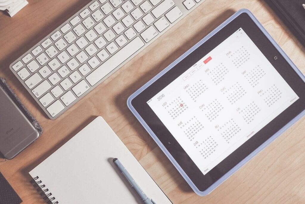 Darmowe programy biurowe - kalendarz Google