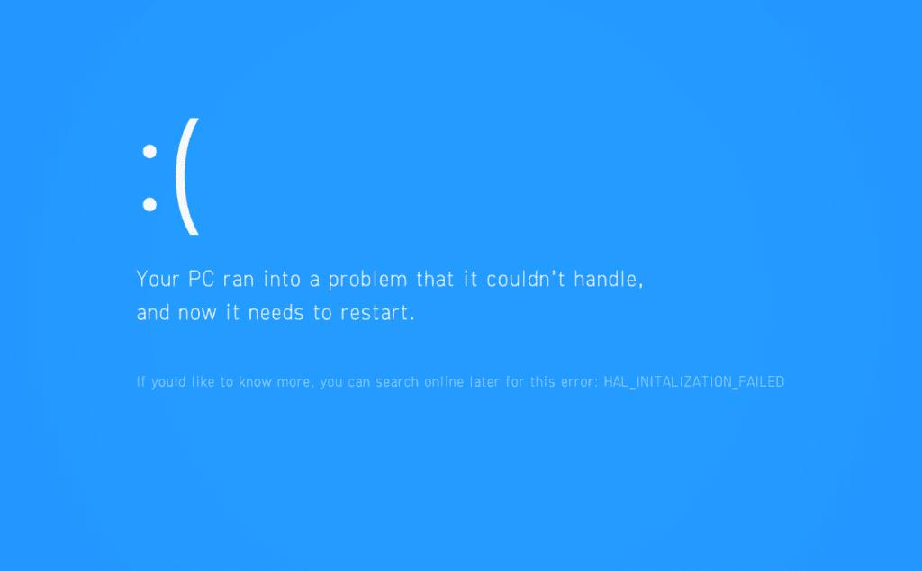 Przywracanie systemu windows 10 BSOD