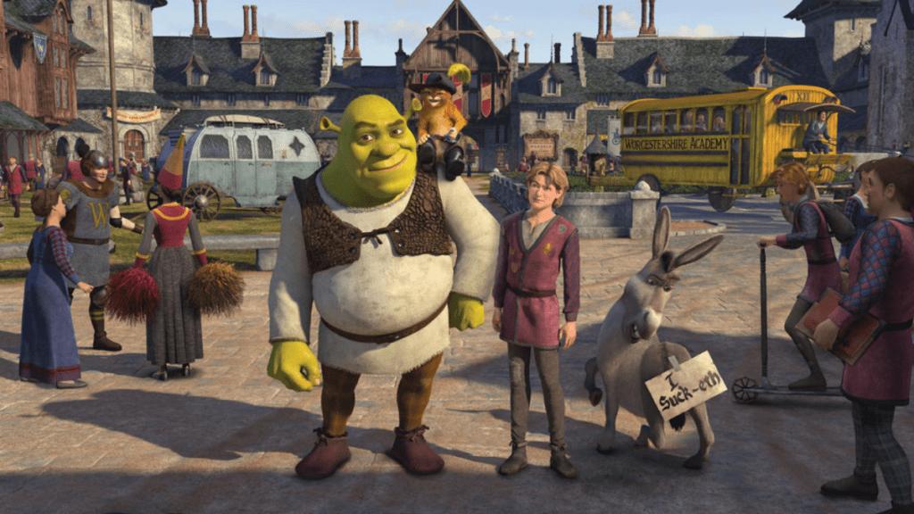 Najlepsze filmy animowane - Shrek
