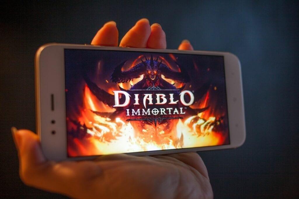 Stare gry komputerowe - iphone, diablo