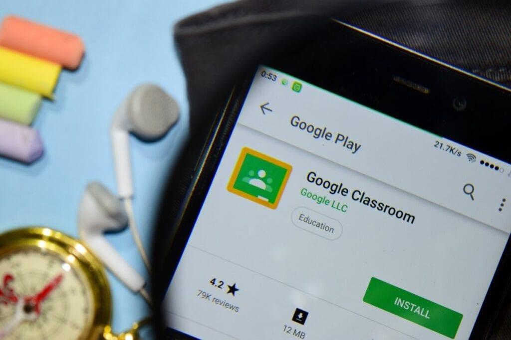 Usługa Google Classroom - aplikacja, smartfon, pobierz