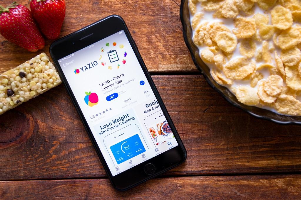 Yazio - aplikacja do liczenia kalorii