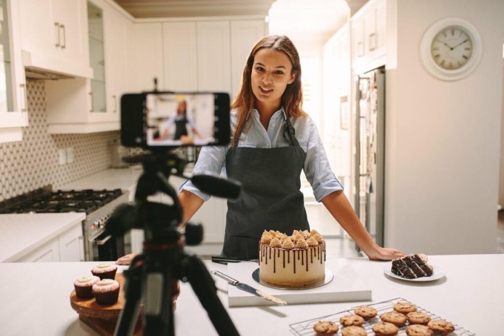 YouTube jako źródło zarobku - kuchnia, zainteresowania