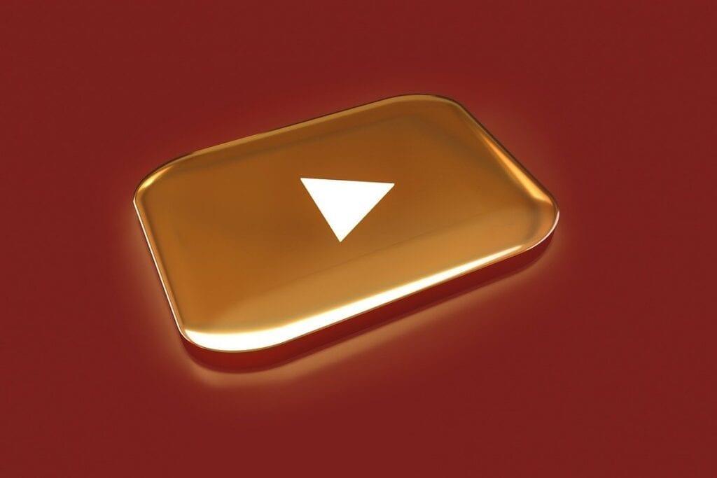 YouTube jako źródło zarobku - wyróżnienie, gold
