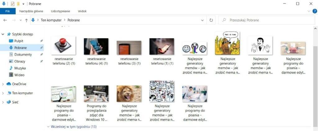 Program do przeglądania zdjęć, Jak porządkować zdjęcia
