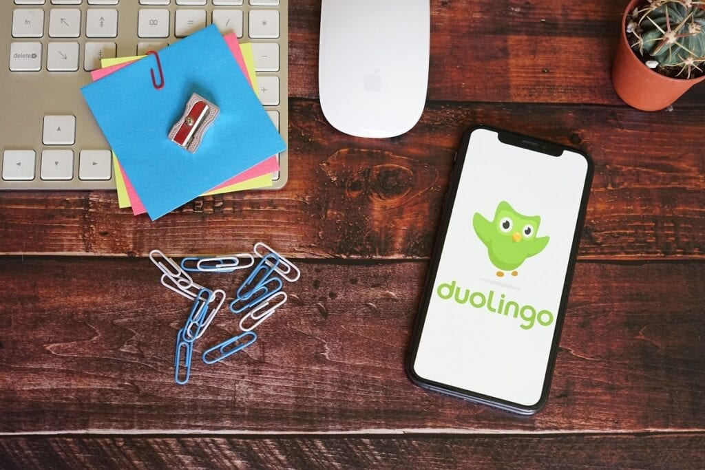Duolingo aplikacja do nauki angielskiego