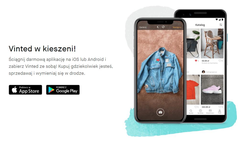 aplikacja vinted