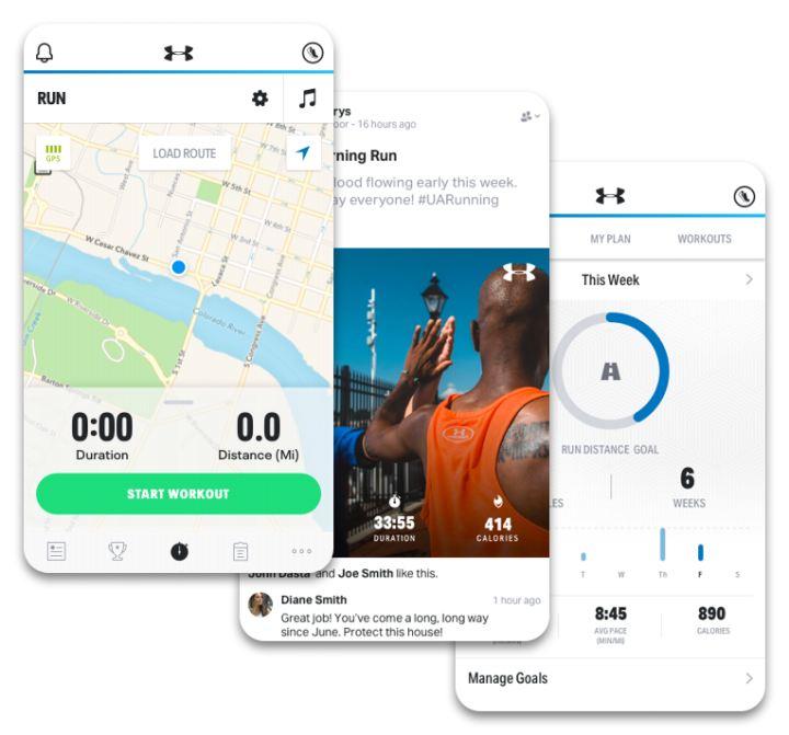 Najlepsze aplikacje do biegania - mapmyrun