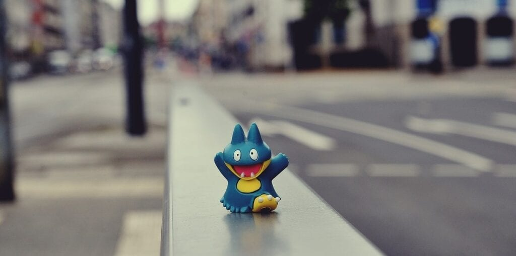 gry o pokemonach - złap je wszystkie, miasto