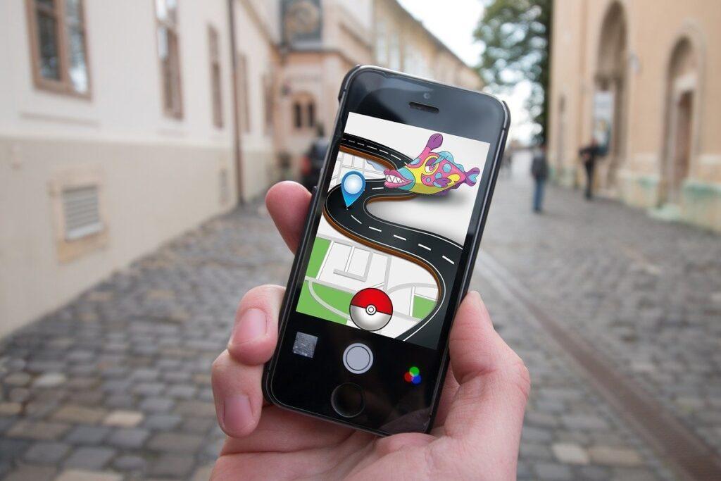 gry o pokemonach - kamera
