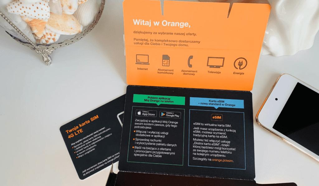 Karta eSIM w Orange