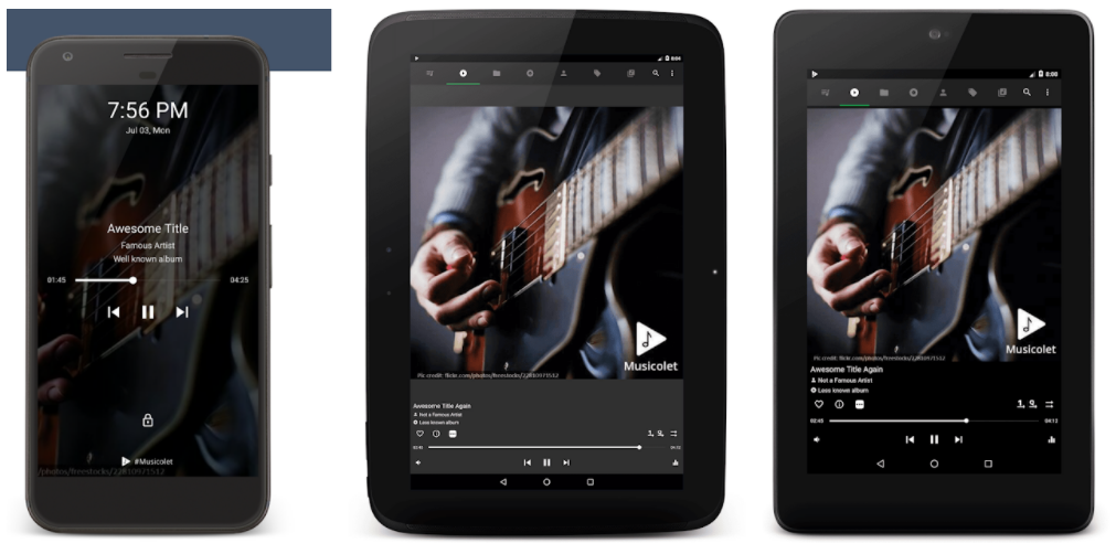 musicolet aplikacja