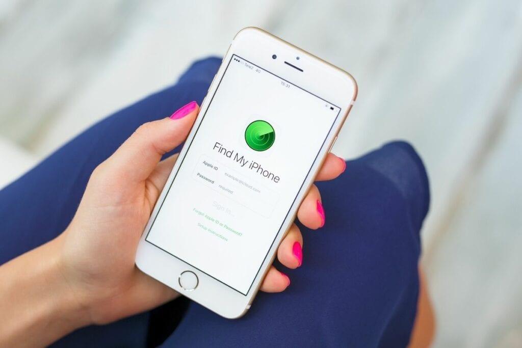 namierzanie iphonea