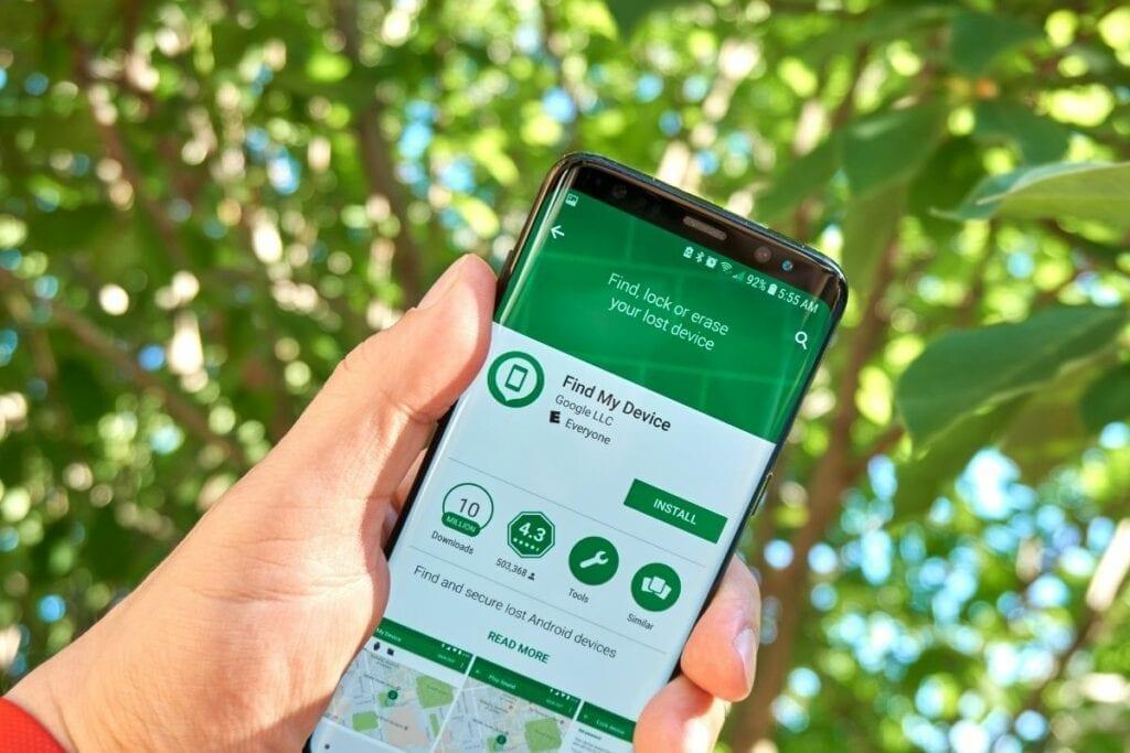 namierzanie telefonu android