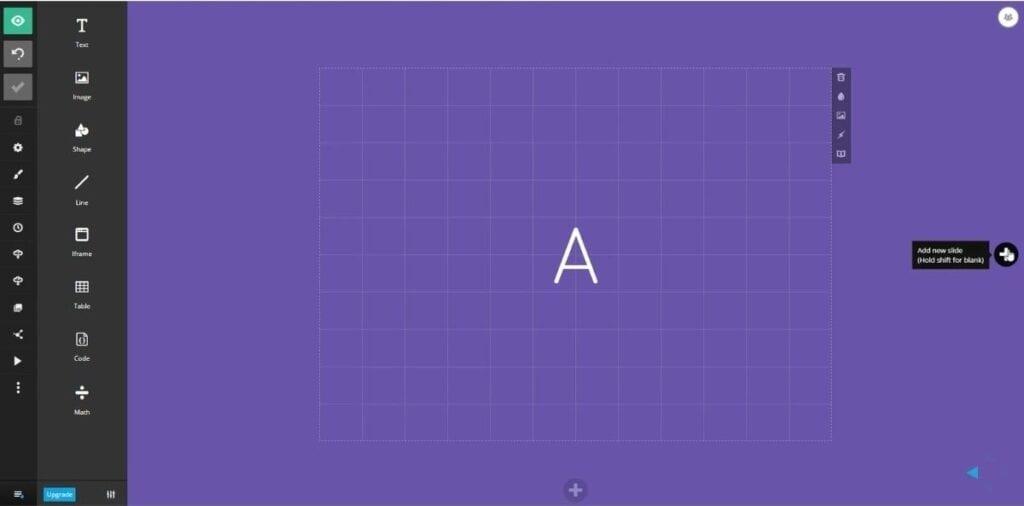 Slides.com - narzędzie to przypomina canvę.