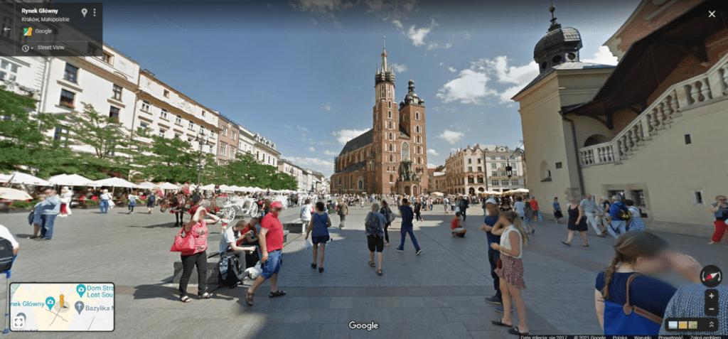 Mapy google - streetview