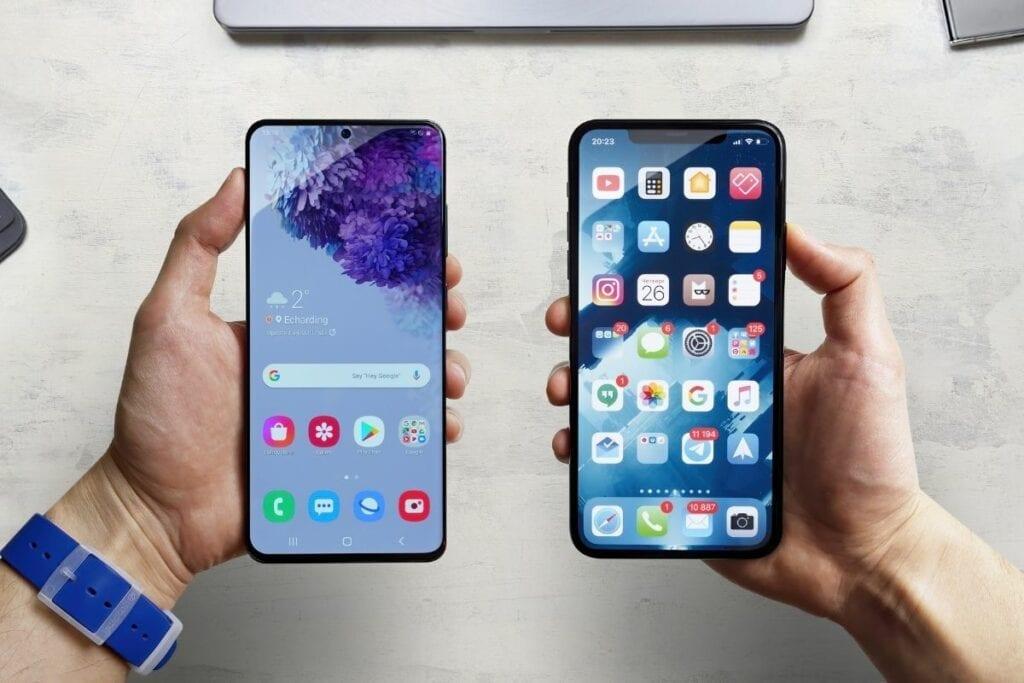 system ios czy android - porownanie