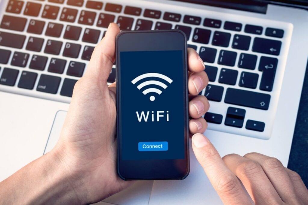 Zmiana hasła WiFi - smartfon
