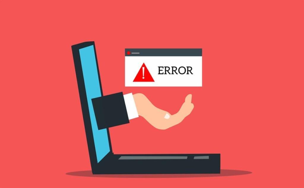 aplikacja nie została właściwie uruchomiona - error