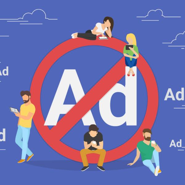 Blokowanie reklam tło