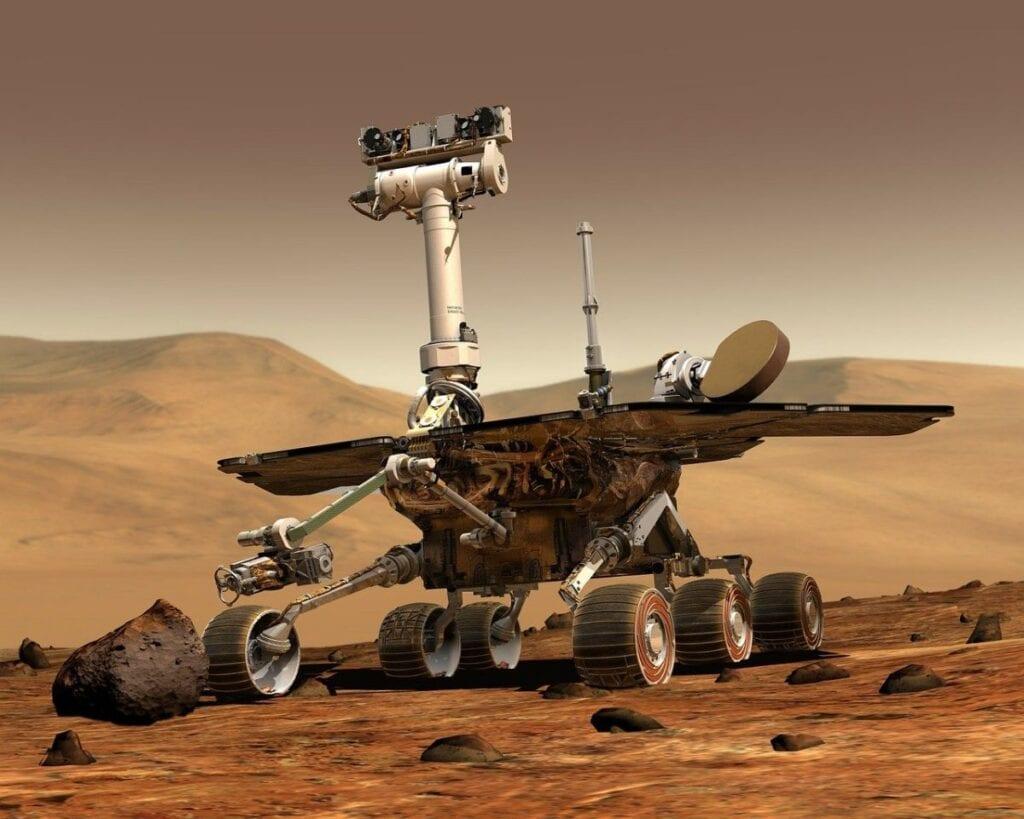 Chińska misja na Marsa - USA