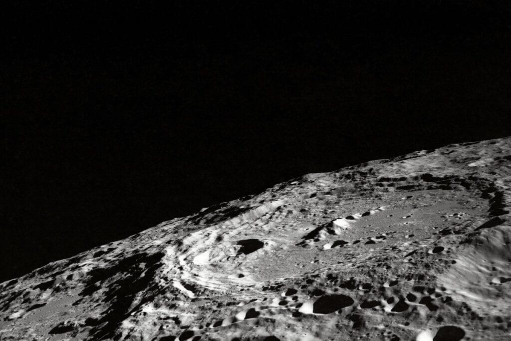 Ciemna strona księżyca - powierzchnia