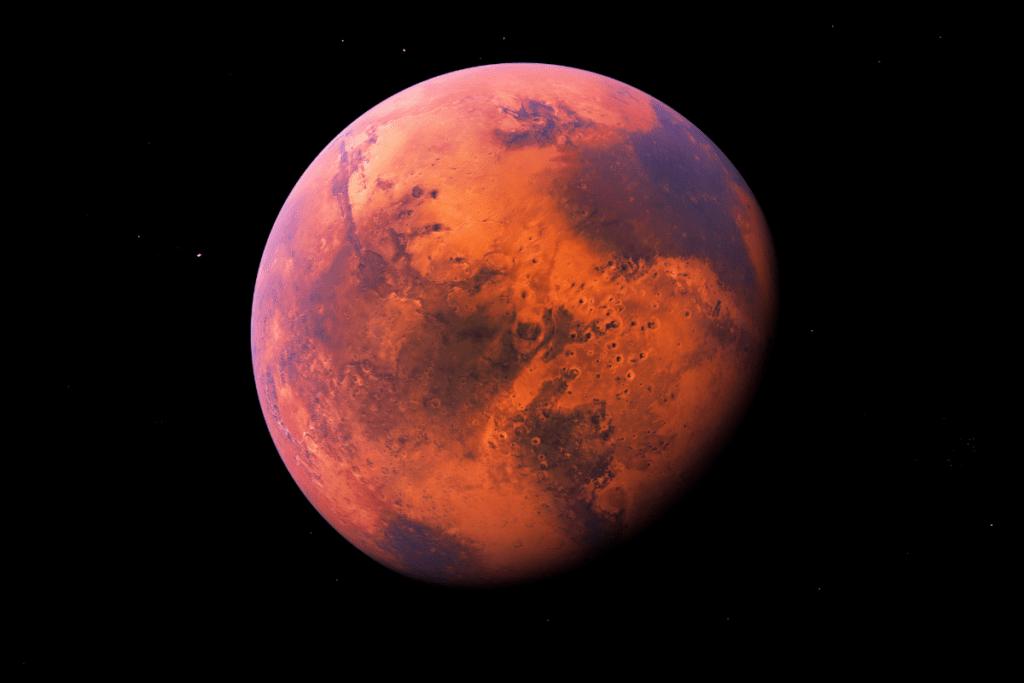 Temperatura na Marsie
