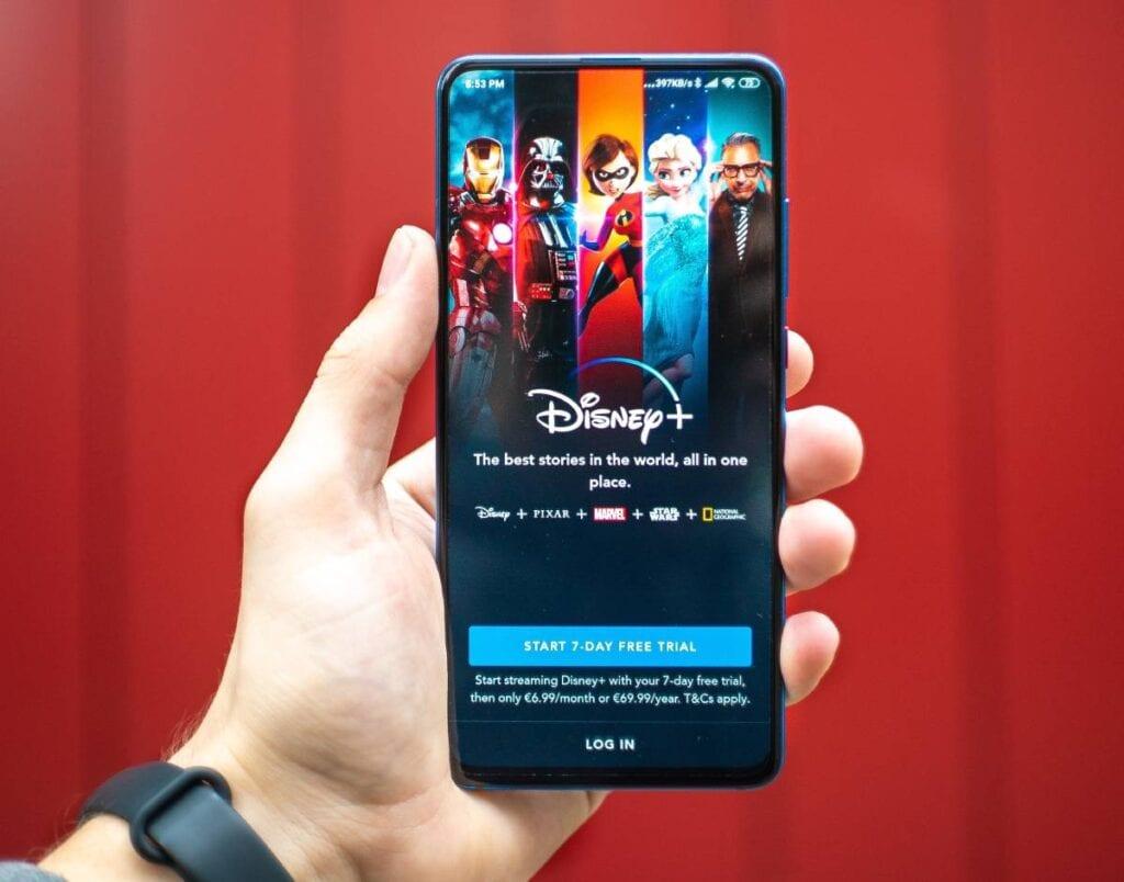 Disney Plus w Polsce - mobile
