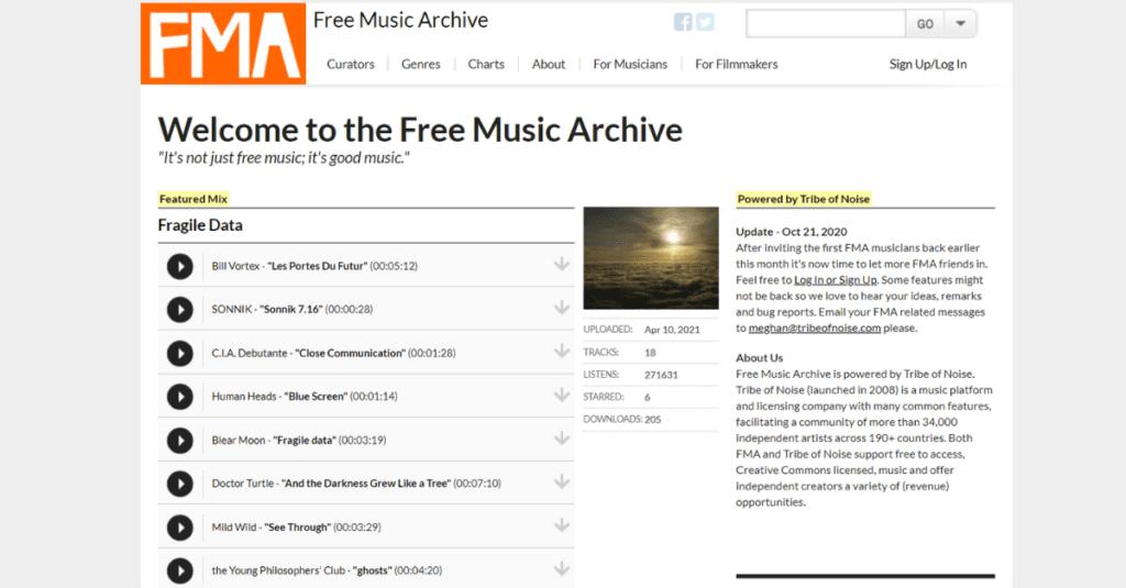 FMA - muzyka do ściągnięcia