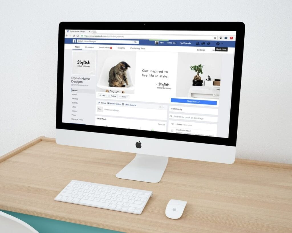 jak zmienić e-mail na FB - macbook
