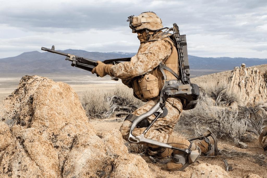 Egzoszkielet wojskowy