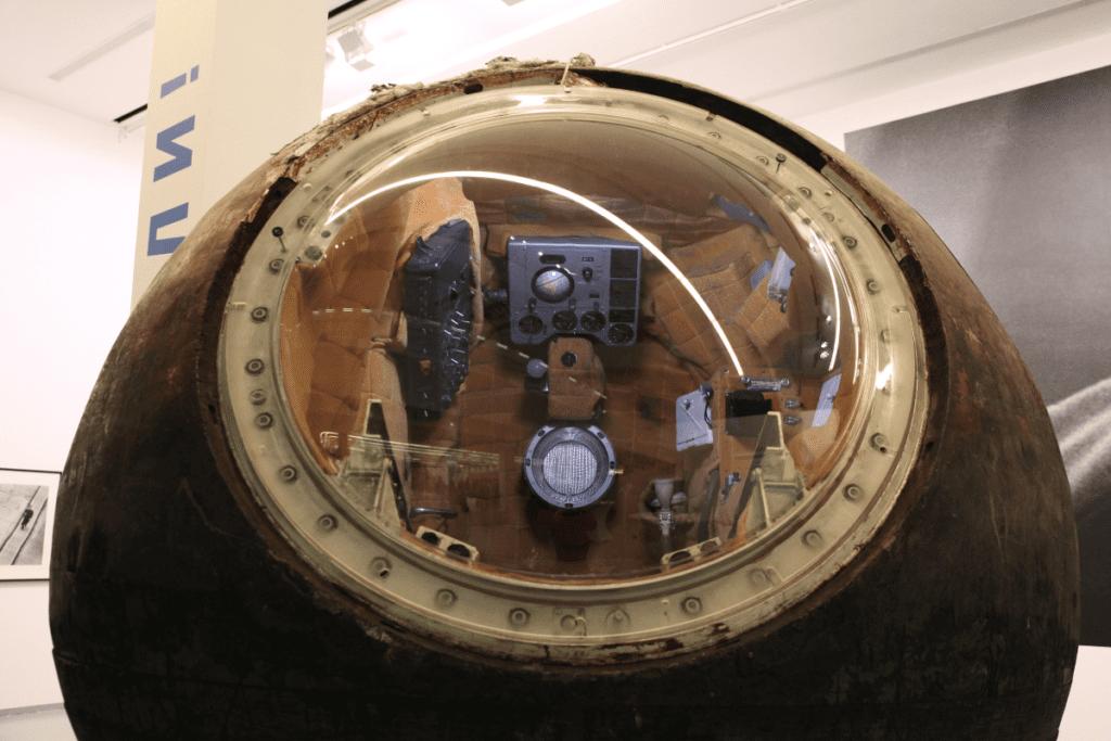 Pierwszy lot w kosmos - kapsuła Wostok-1