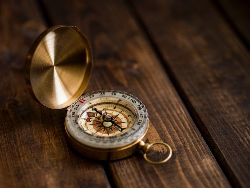 Kompas w telefonie - kompas