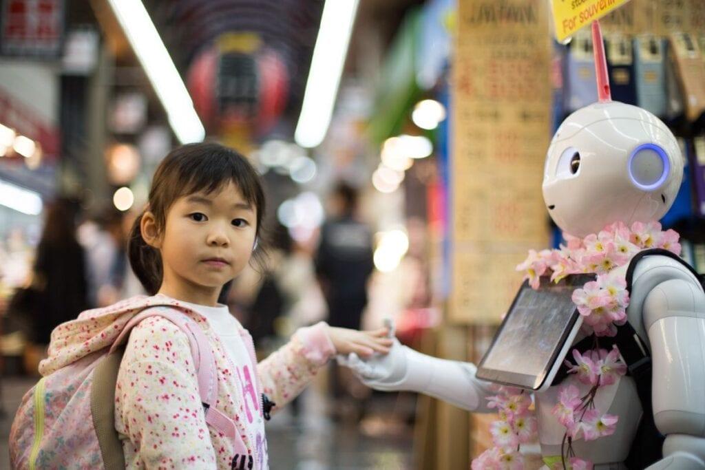 Machine learning - roboty