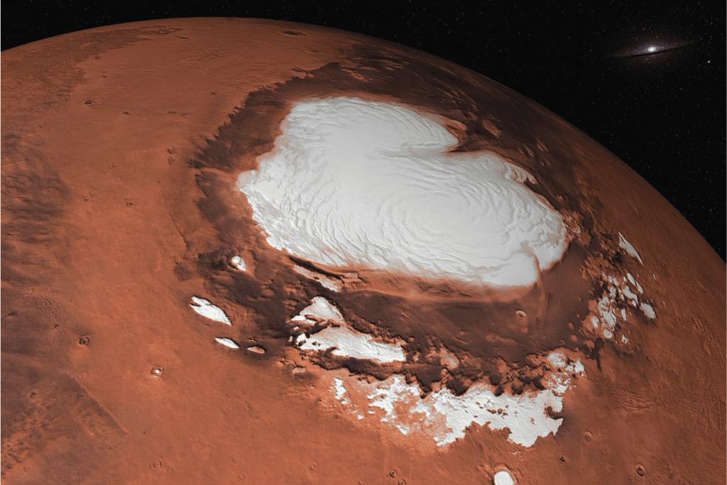 Mars i jego temperatura