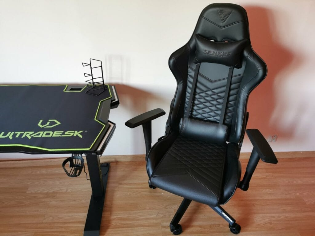 Recenzja SENSE7 Spellcaster - biurko gamingowe
